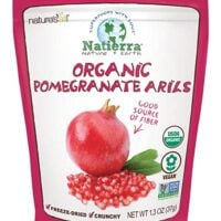 Natierra Nature's All Foods Organic Freeze-Dried Pomegranate Arils, 1.3 Oz