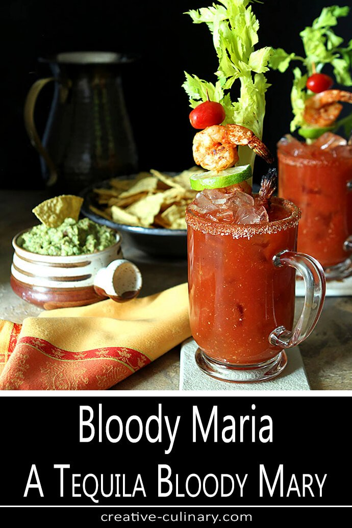 Bloody Maria Cocktail - A Tequila Bloody Mary