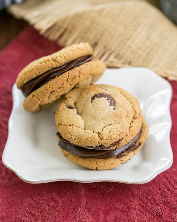 Chocolate Chip Sandwich Cookies (2)