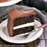 Chocolate Layer Cake with Ganache