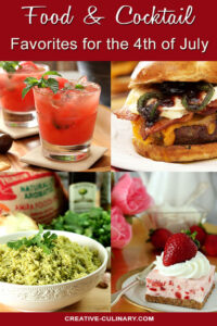 Food and Cocktail Favorites for the 4th of July