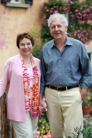 Frances and Ed Mayes