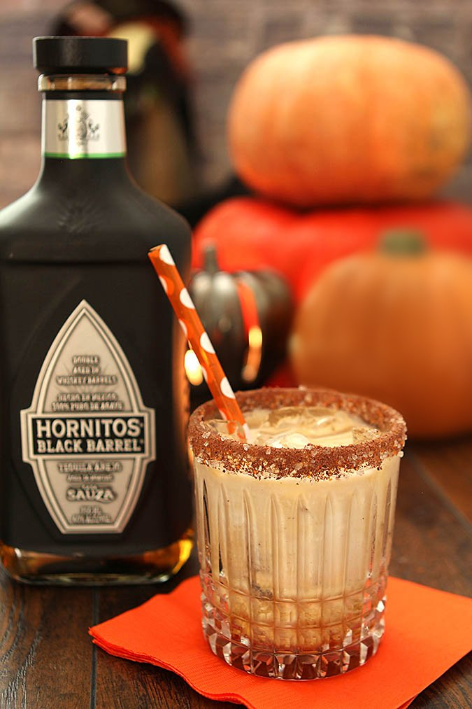 Tequila, Kahlua and Cream Cocktail with Hornitos Tequila