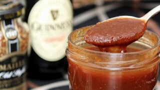 Homemade Guinness Irish Stout Ketchup