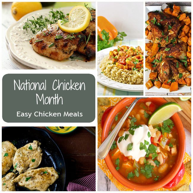 National Chicken Month Recipes