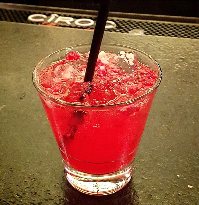 Shattered Lemon and Raspberry Hard Lemonade