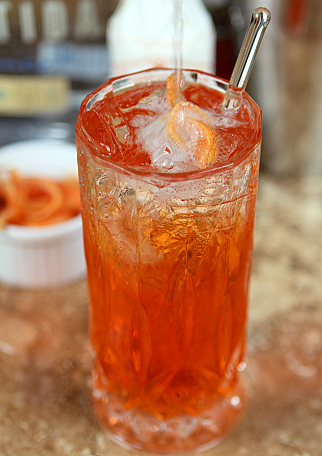 Aperol Tequila Swizzle | Creative-Culinary.com
