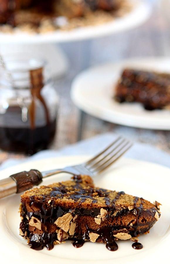 Bahlsen Waffeletten Espresso Cake with Espresso Chocolate Drizzle