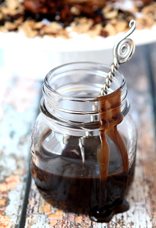 Coffee and Kahlua Caramel Sauce