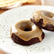 Baileys Salted Caramel and Espresso Doughnuts