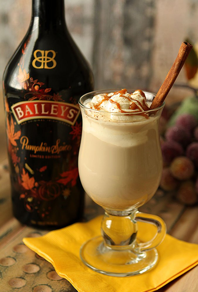 Baileys Pumpkin Spice Dessert Coffee