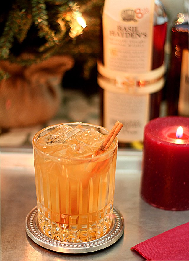 Basil Hayden's Holiday Spice Cocktail Recipe