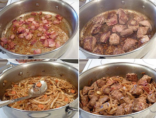 Beef Bourguignon My Birthday With Julia Child And Manpans Giveaway Creative Culinary