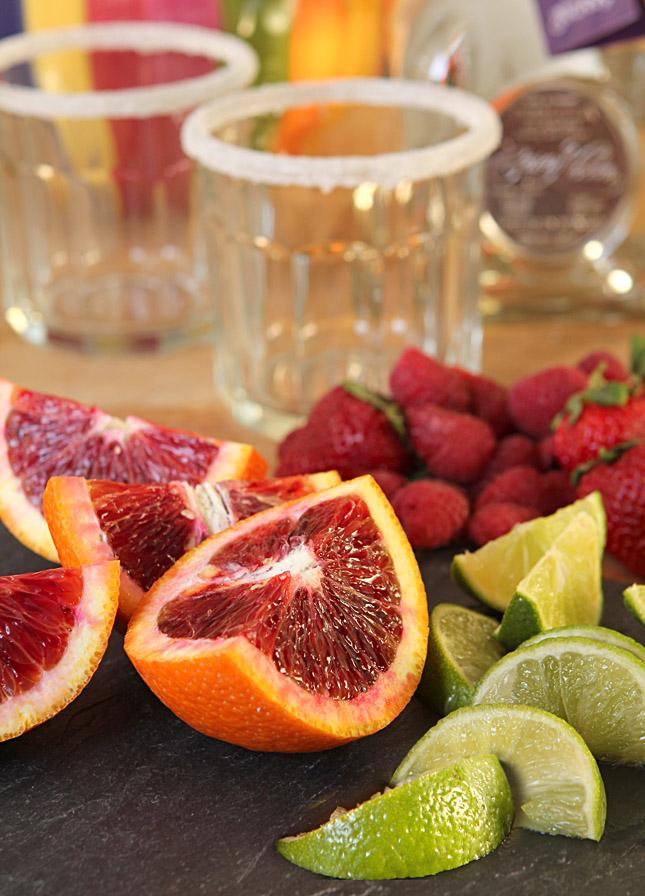 A Very Berry Blood Orange Margarita | Creative-Culinary.com