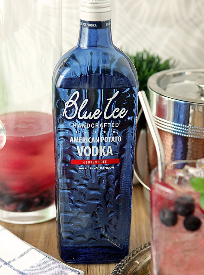 Blue Ice Vodka for Vodka Spritzers