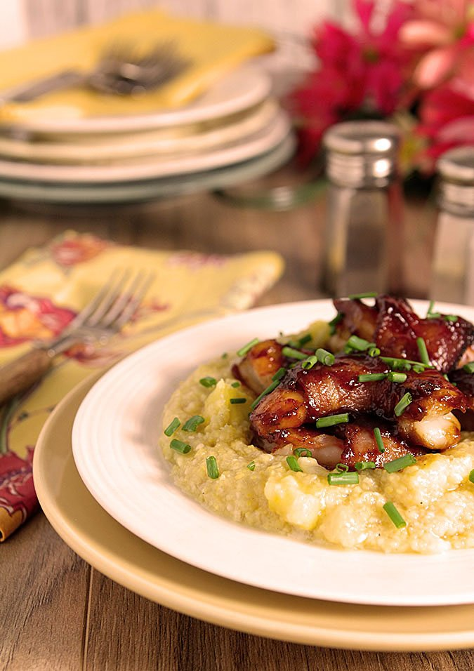 Caribbean Shrimp and Grits