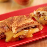 Apple, Pancetta, and Cheddar Grilled Croissant