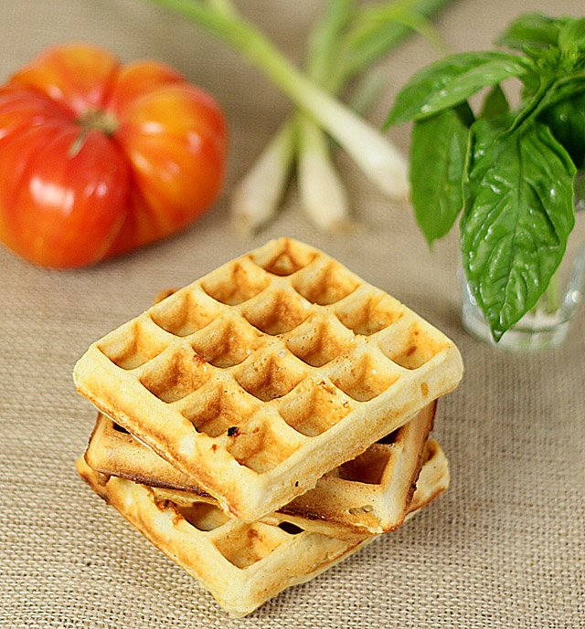 Cheesy Waffle BLT Sandwiches start with the Waffle!