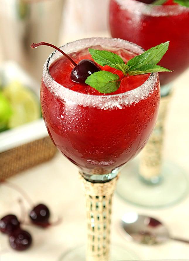 Cherry Mint Margarita