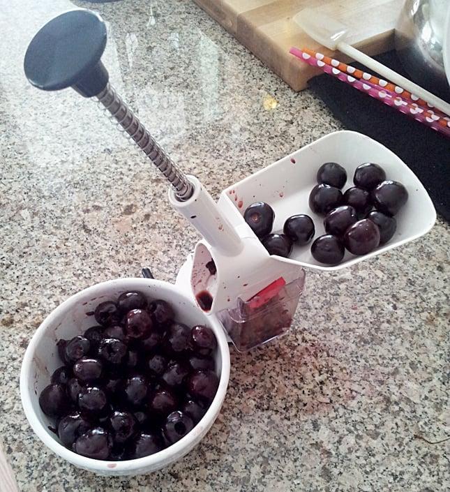 My favorite utensil to pit cherries.