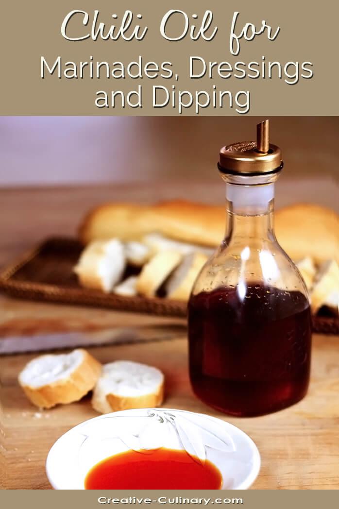 Chili Oil in Serving Jar