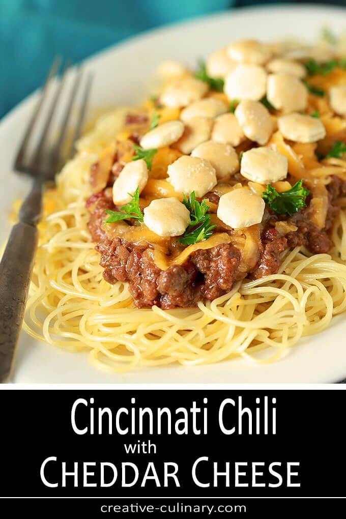 Cincinnati Chili with Cheese PIN