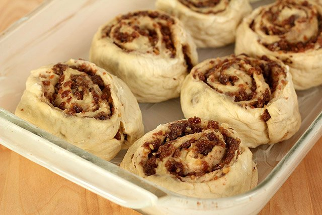 Date and Nut Cinnamon Rolls