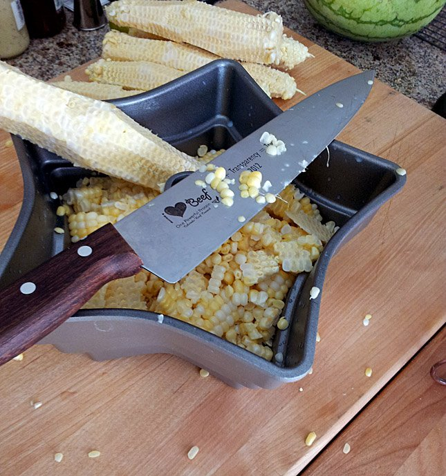 Bacon and Caramelized Onion Cream Corn