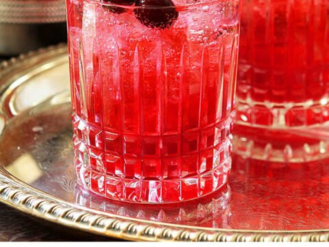 Cranberry Sage Cocktail