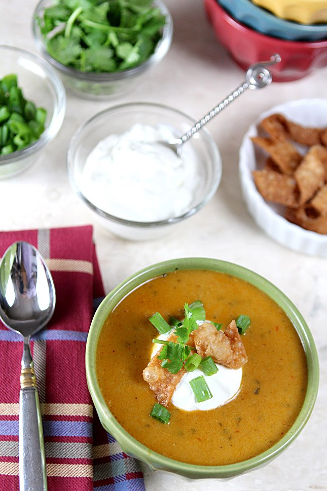 Creamy Hatch Green Chili Soup
