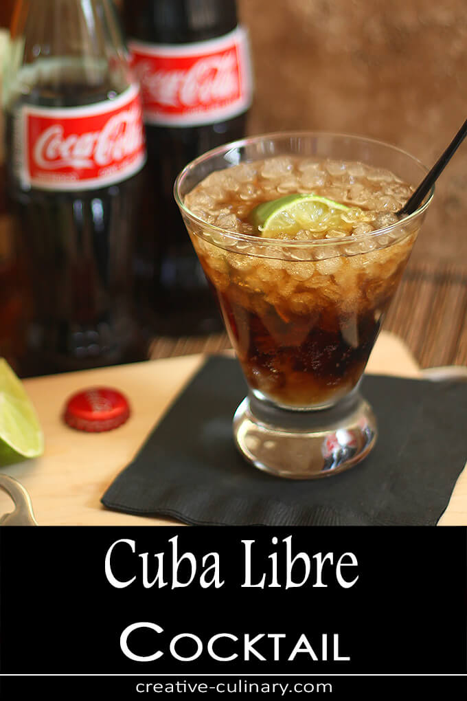Cuba Libre Cocktail PIN