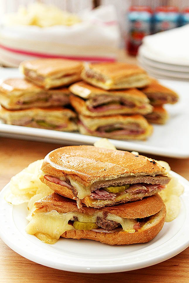 Authentic Cubano Sandwich