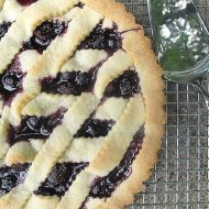 Cherry Ricotta Crostata