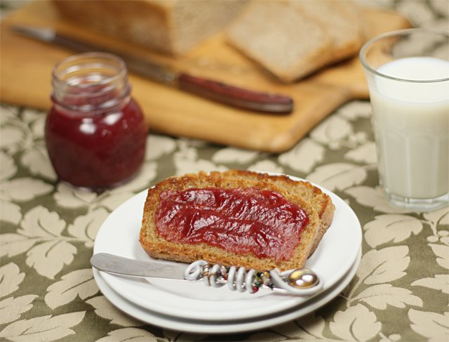 Homemade Cranberry Apple Butter