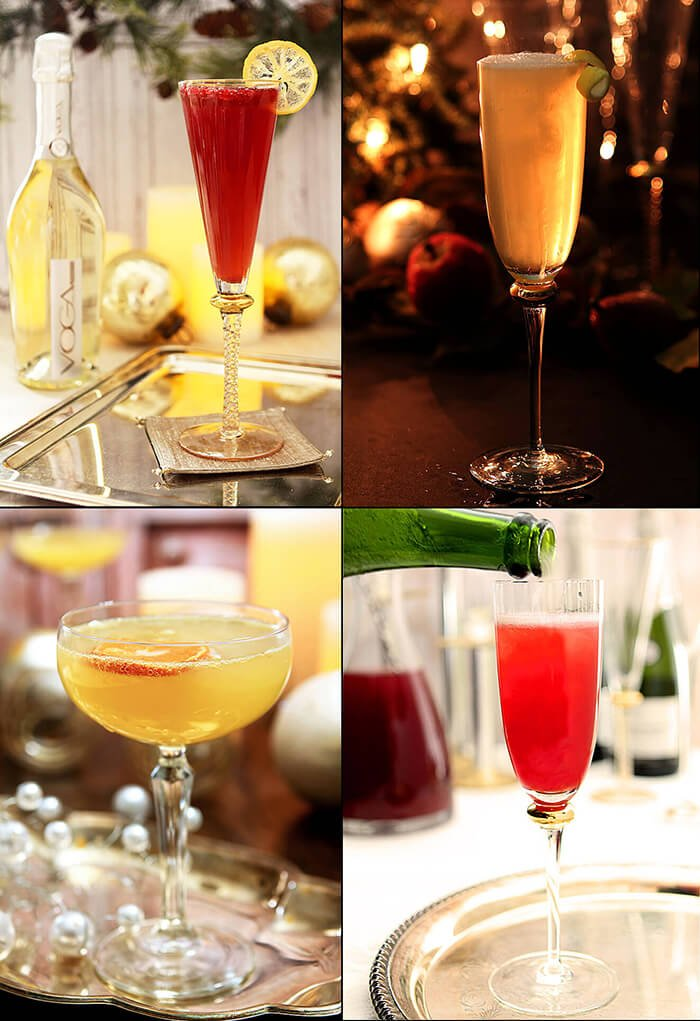 Favorite Champagne Cocktails for Celebrating Compilation