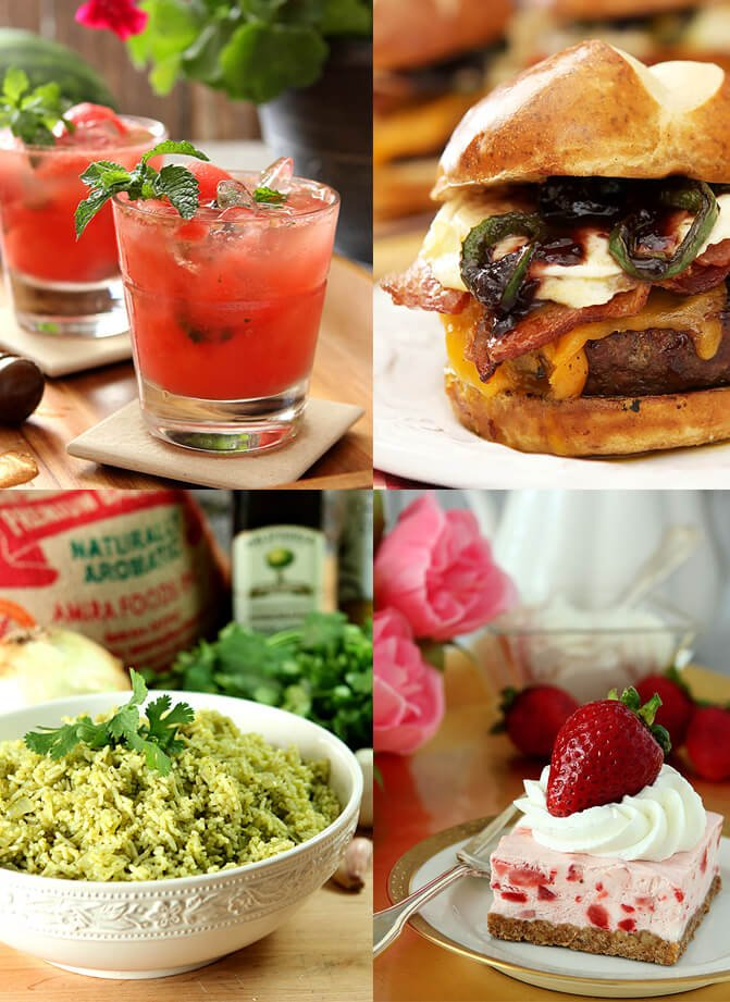 Favorites Foods and Cocktails for the 4th of July