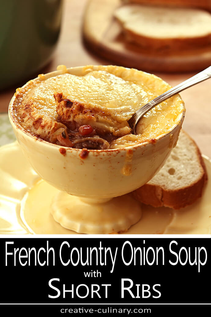 French Country Short Rib Onion Soup