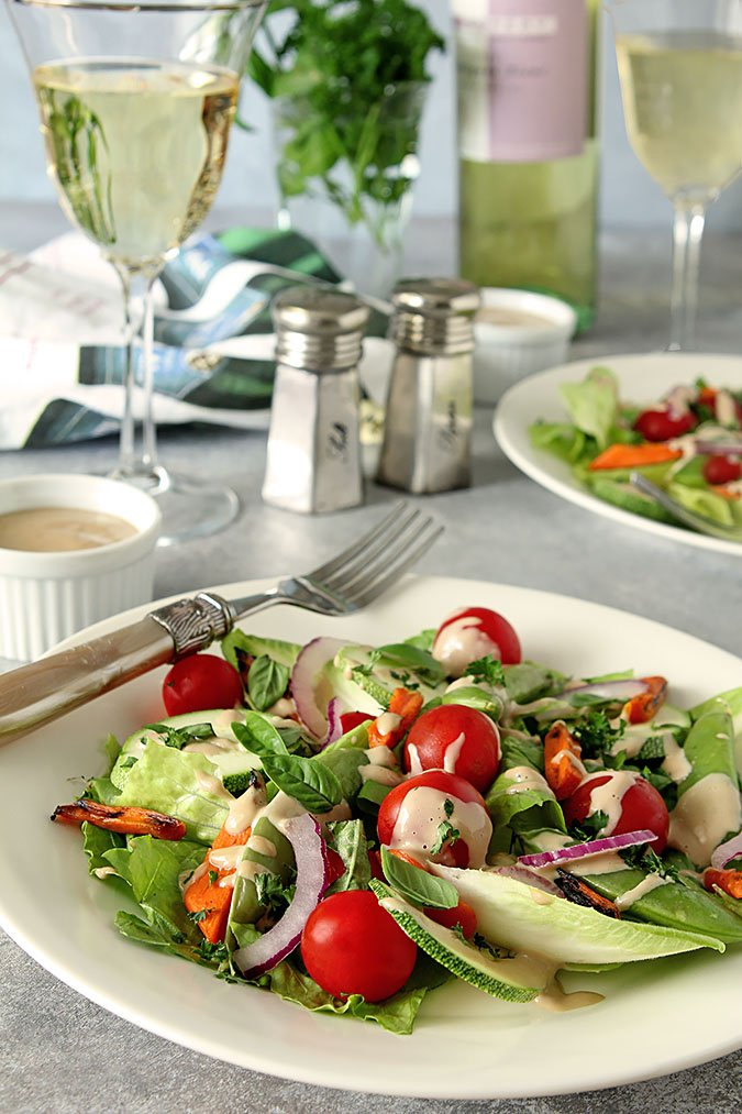 French Laundry Garden Salad with Mustard Vinaigrette