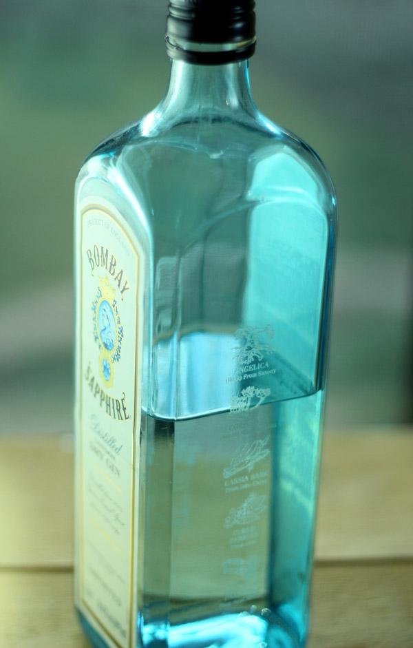 Bombay Sapphire Gin Bottle