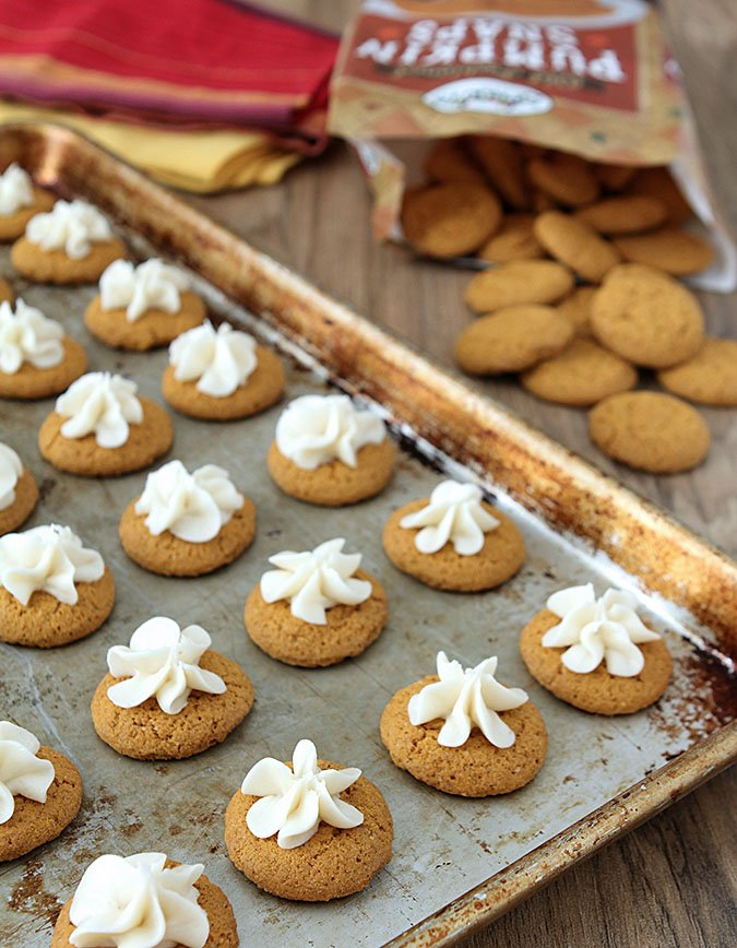 Pumpkin Spice Gingerbread Cookies