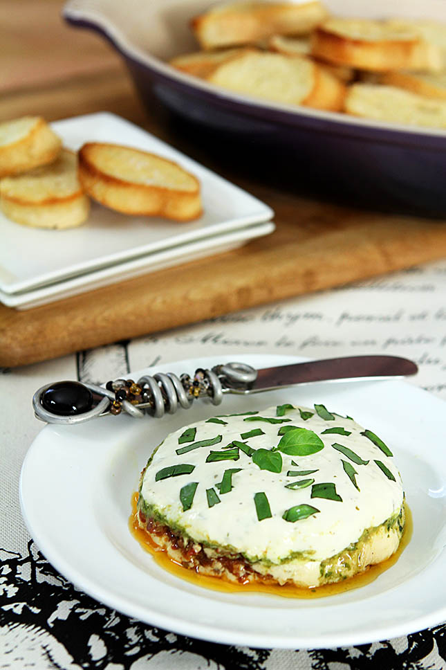 Goat Cheese Torta from Creative-Culinary.com