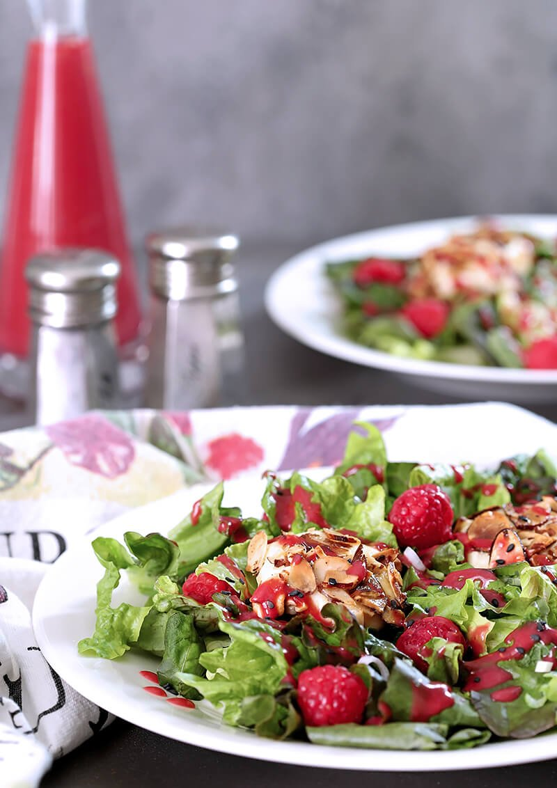 Goat Cheese and Raspberry Salad