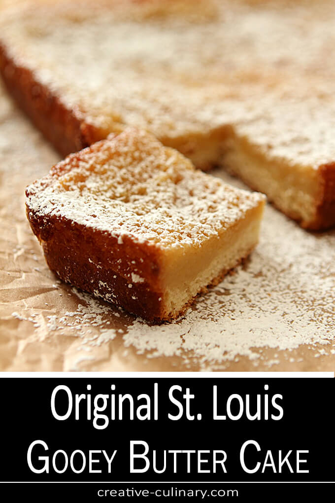 Real St. Louis Gooey Butter Cake PIN