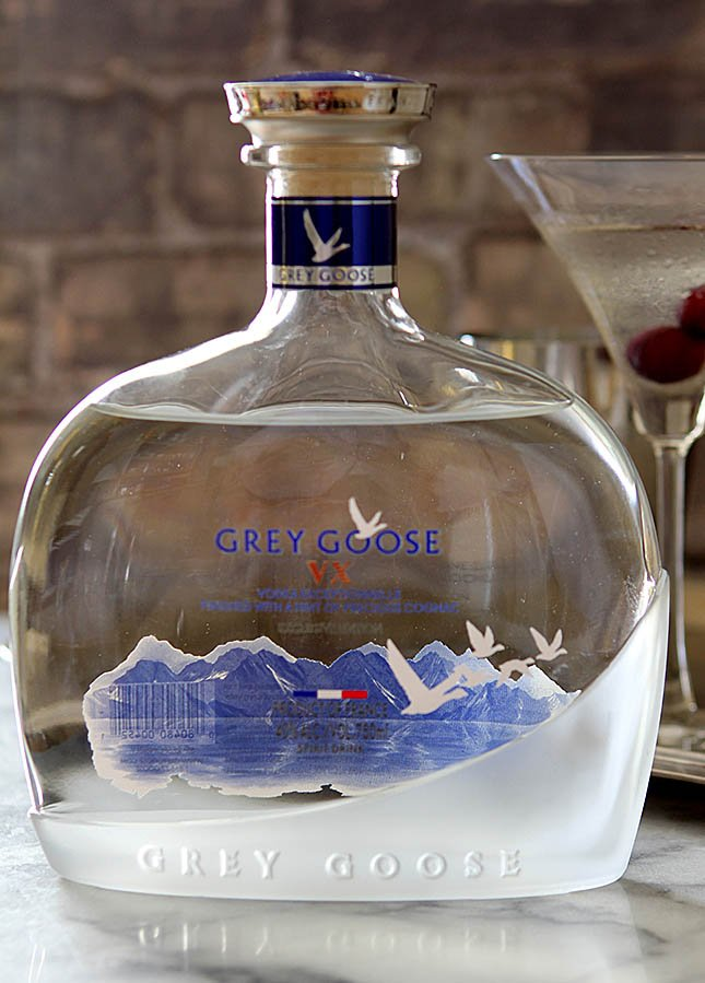Grey Goose XV Martini Exceptionelle from @creativculinary