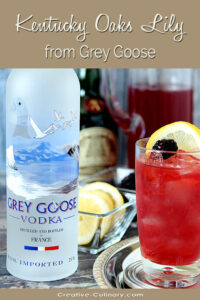 Kentucky Oaks Lily with Grey Goose Vodka