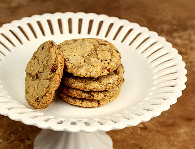 Brown Butter Heath Bar Cookies
