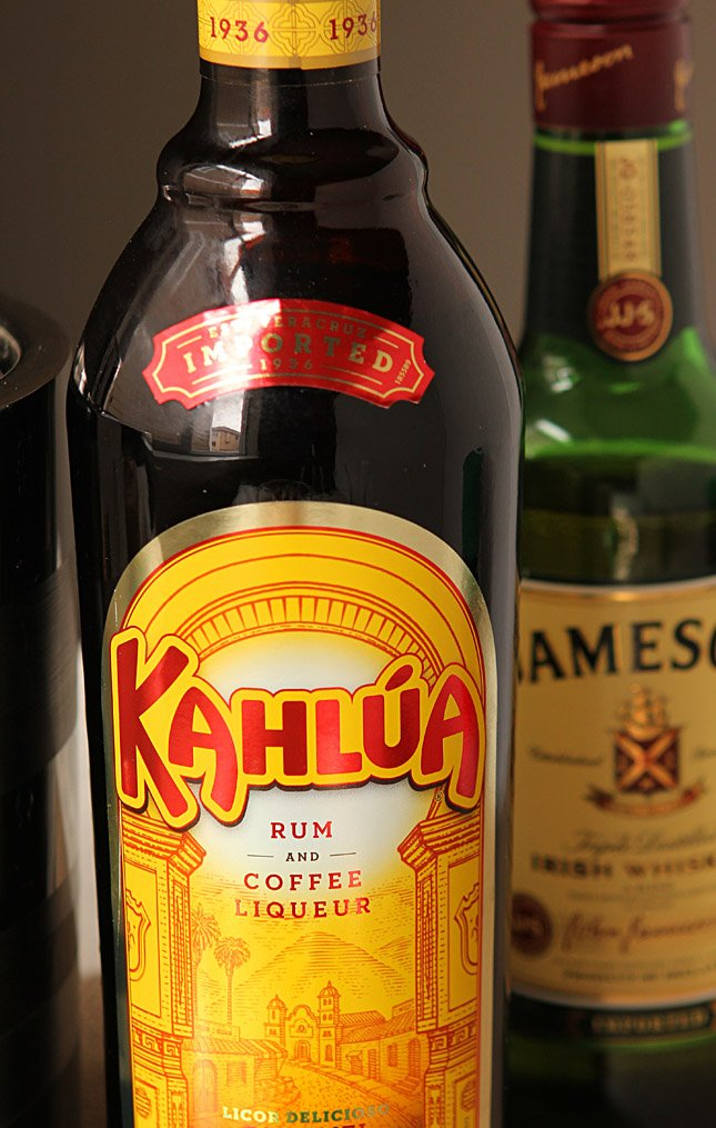 Kahlua Eggnog and Jameson Irish Whiskey
