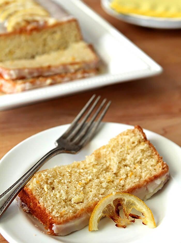 Slice of Lemon Summer Squash Bread