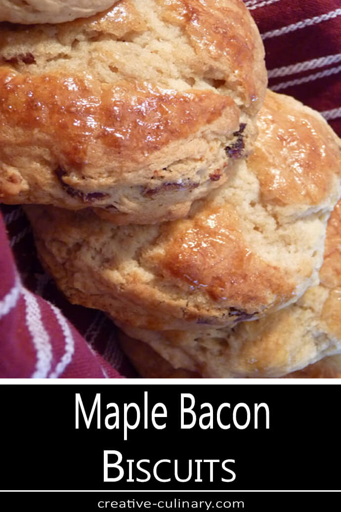 Maple Bacon Biscuits PIN