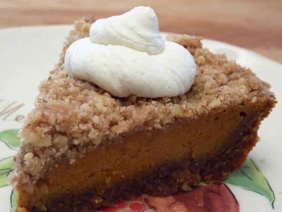 Maple Walnut Pumpkin Pie Creative Culinary